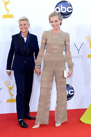 Portia looked phenom in this daring sheer jumpsuit at the Emmy Awards.
