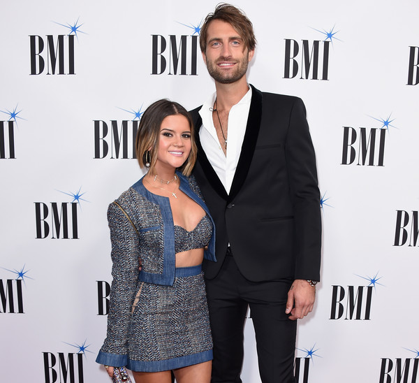 More Pics of Maren Morris Bob (1 of 7) - Maren Morris Lookbook - StyleBistro [premiere,fashion,suit,event,carpet,dress,outerwear,formal wear,white-collar worker,electric blue,arrivals,maren morris,ryan hurd,bmi country awards,awards,nashville,tennessee,bmi country,l]