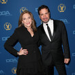 Lesli Linka Glatter & Michael Cuesta at the 2013 Directors Guild of America Awards
