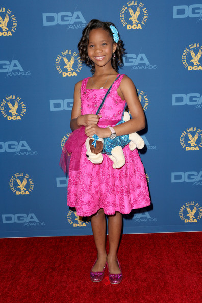 Quvenzhane Wallis at the 2013 Directors Guild of America Awards