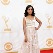 Kerry Washington in Marchesa at the Emmy Awards
