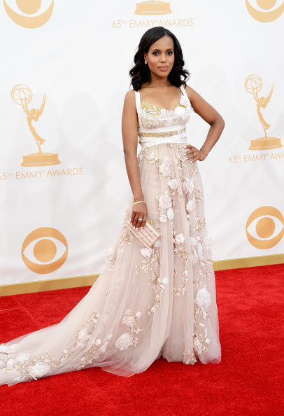 Kerry Washington in Marchesa, 2013
