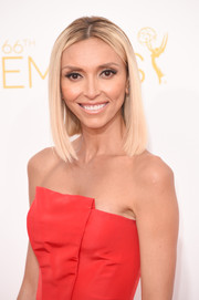 Giuliana Rancic sported a simple mid-length bob during the Emmys.