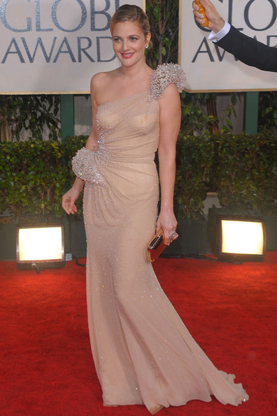 Drew Barrymore, 2010 Golden Globes