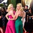 January Jones and Elisabeth Moss