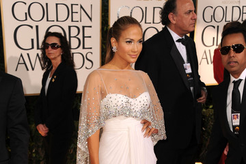 Jennifer Lopez Wears Zuhair Murad at the Golden Globe Awards