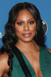 Laverne Cox sweetened up her look with long spiral curls for the Directors Guild of America Awards.