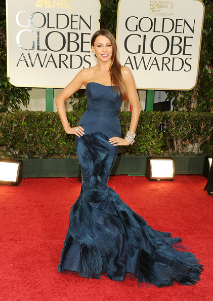 Sofia Vergara's Vera Wang Mermaid Gown