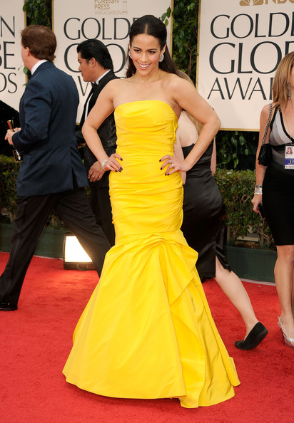 Paula Patton, 2012 Golden Globes