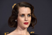 Claire Foy went retro-glam with this curly bob at the 2017 Emmys.