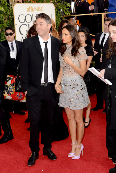 More Pics of Thandie Newton Peep Toe Pumps (1 of 14) - Peep Toe Pumps Lookbook - StyleBistro