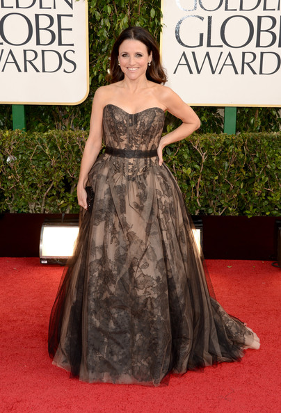 Julia Louis-Dreyfus at the 2013 Golden Globes