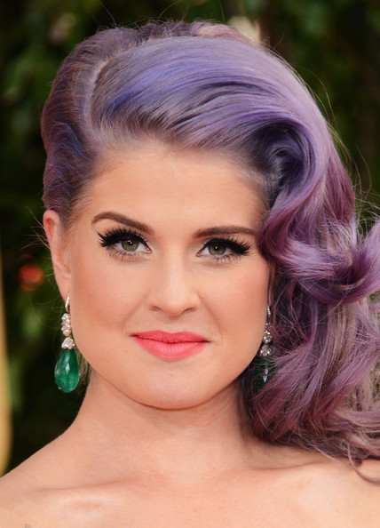 More Pics of Kelly Osbourne Dangling Gemstone Earrings (1 of 11) - Kelly Osbourne Lookbook - StyleBistro
