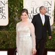 Mayim Bialik at the 2013 Golden Globes