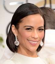 Paula Patton kept it simple with this slick bob at the Golden Globes.