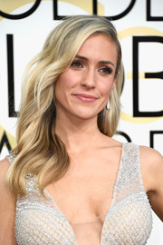 Kristin Cavallari sported boho-glam waves when she attended the Golden Globes.