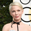 Michelle Williams' Short Side Part