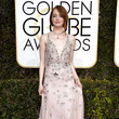 Emma Stone in Valentino at the Golden Globes