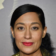 Tracee Ellis Ross' Sleek-Meets-Curly Ponytail