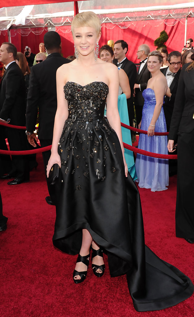 Actress Carey Mulligan arrives at the 82nd Annual Academy Awards held at Kodak Theatre on March 7, 2010 in Hollywood, California.