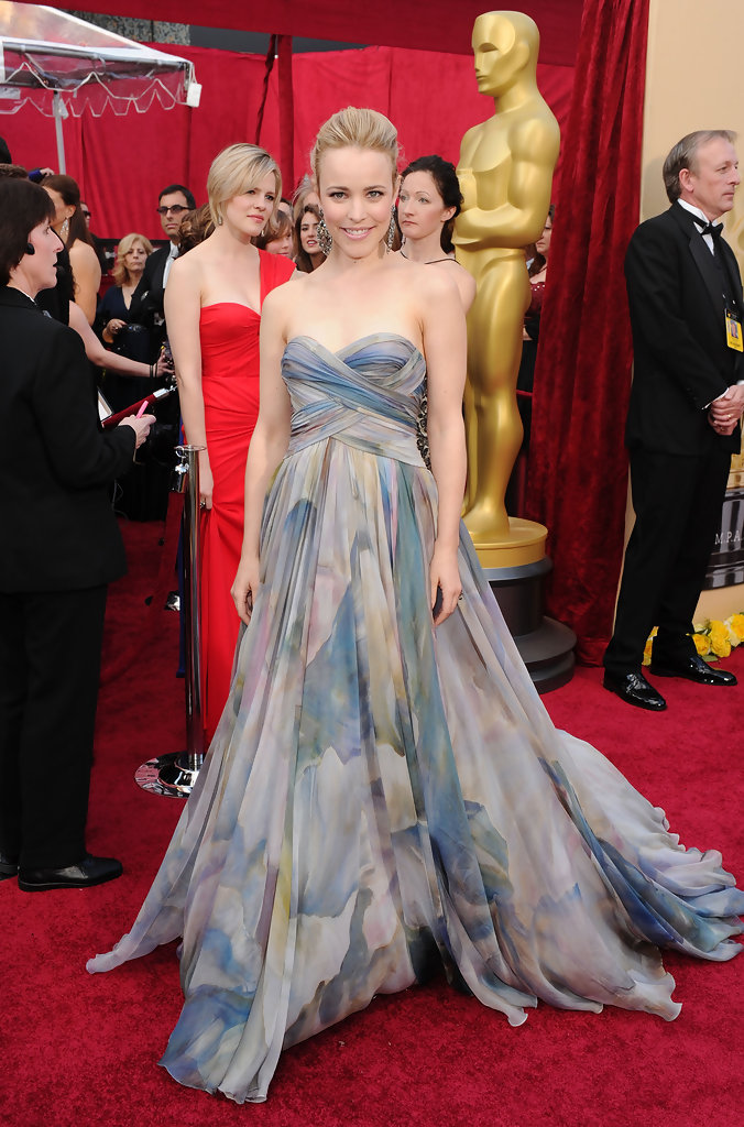 Actress Rachel McAdams arrives at the 82nd Annual Academy Awards held at Kodak Theatre on March 7, 2010 in Hollywood, California.
