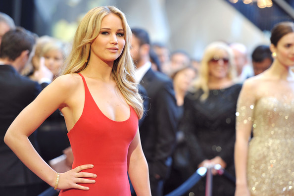 Jennifer lawrence together with