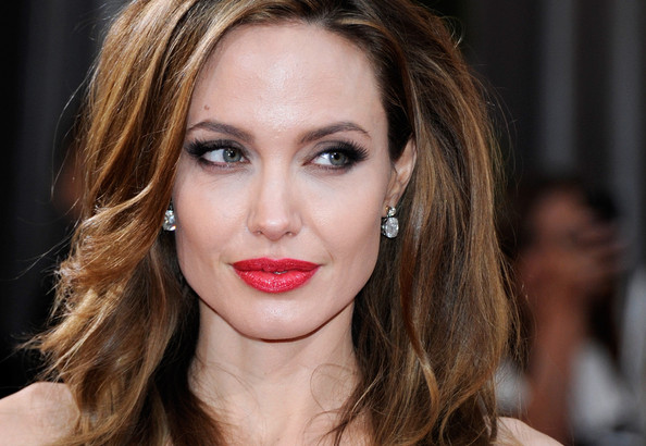 Angelina Jolie's Red Red Oscar Lips