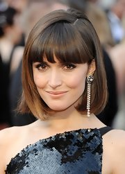 Rose Byrne attended the 84th Annual Academy Awards wearing her hair in a sleek pageboy.