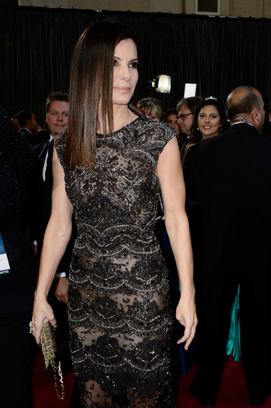 More Pics of Sandra Bullock Evening Dress (5 of 59) - Sandra Bullock Lookbook - StyleBistro