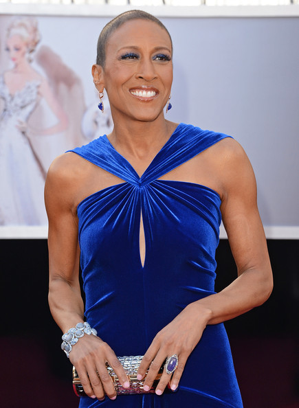 More Pics of Robin Roberts Evening Dress (1 of 33) - Robin Roberts Lookbook - StyleBistro