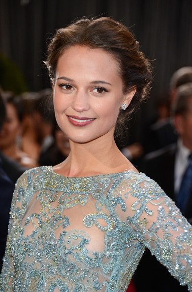 More Pics of Alicia Vikander Evening Dress (1 of 24) - Alicia Vikander Lookbook - StyleBistro