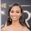 Zoe Saldana at the 2013 Oscars