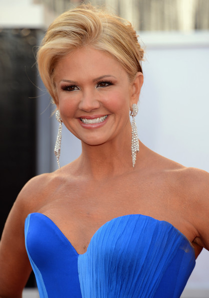 More Pics of Nancy O'Dell Strapless Dress (1 of 5) - Nancy O'Dell Lookbook - StyleBistro