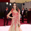 Louise Roe Wore Monique Lhuillier at the 2013 Oscars