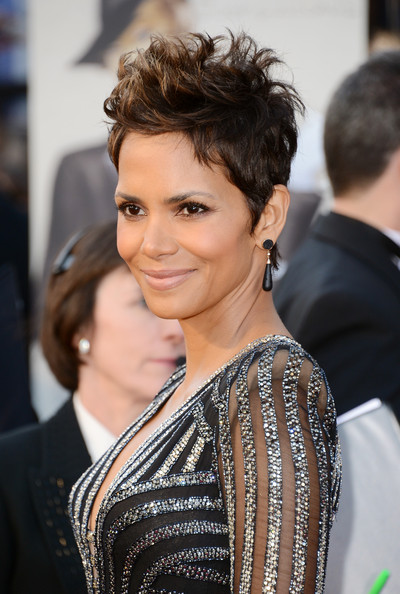More Pics of Halle Berry Spiked Hair (3 of 40) - Short Hairstyles Lookbook - StyleBistro