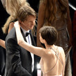 Anne Hathaway and Tom Hooper