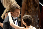 Anne Hathaway and Tom Hooper Photo