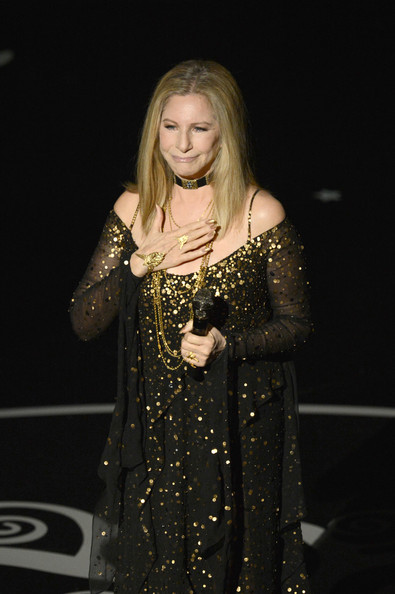 More Pics of Barbra Streisand Beaded Dress (1 of 14) - Barbra Streisand Lookbook - StyleBistro