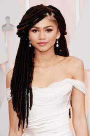 Zendaya Coleman turned heads at the Oscars with her super-long dreadlocks.