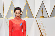 Ruth Negga Fishtail Dress