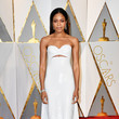 Naomie Harris in Calvin Klein at the Oscars