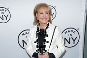 Media personality Barbara Walters attends the 8th Annual Made in NY Awards at Gracie Mansion on June 10, 2013 in New York City.