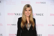 Actress Jennette McCurdy arrives at The 8th Annual Teen Vogue Young Hollywood Party at Paramount Studios on October 1, 2010 in Los Angeles, California.