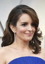 Tina Fey looked beautiful with her feathery waves at the 2019 Oscars.