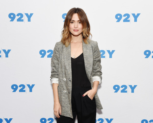 More Pics of Rose Byrne Asymmetrical Cut (1 of 13) - Rose Byrne Lookbook - StyleBistro