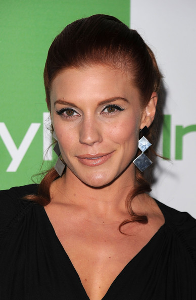 More Pics of Katee Sackhoff Sterling Dangle Earrings (1 of 2) - Katee Sackhoff Lookbook - StyleBistro