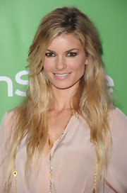 Marisa Miller showed off her long curls while hitting the InStyle party.