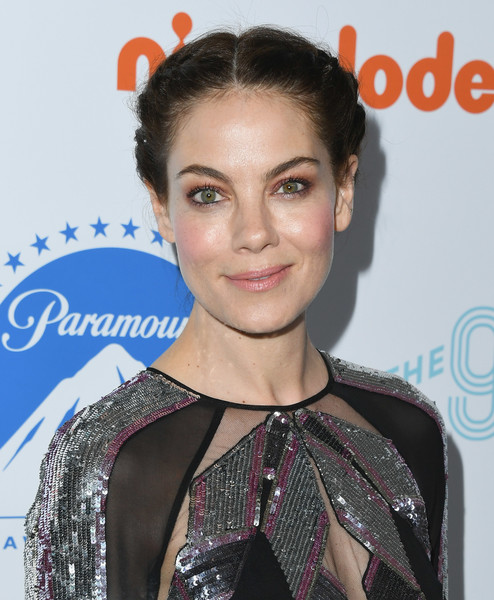More Pics of Michelle Monaghan Cutout Dress (1 of 18) - Dresses & Skirts Lookbook - StyleBistro [hair,hairstyle,eyebrow,beauty,lip,premiere,bun,black hair,smile,croydon facelift,arrivals,michelle monaghan,the beverly hilton hotel,beverly hills,california,thirst gala]