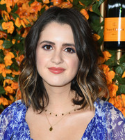 Laura Marano looked sweet with her shoulder-length waves at the Veuve Clicquot Polo Classic Los Angeles.