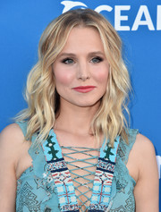 Kristen Bell looked oh-so-cute with her piecey waves at the Concert for Our Oceans.